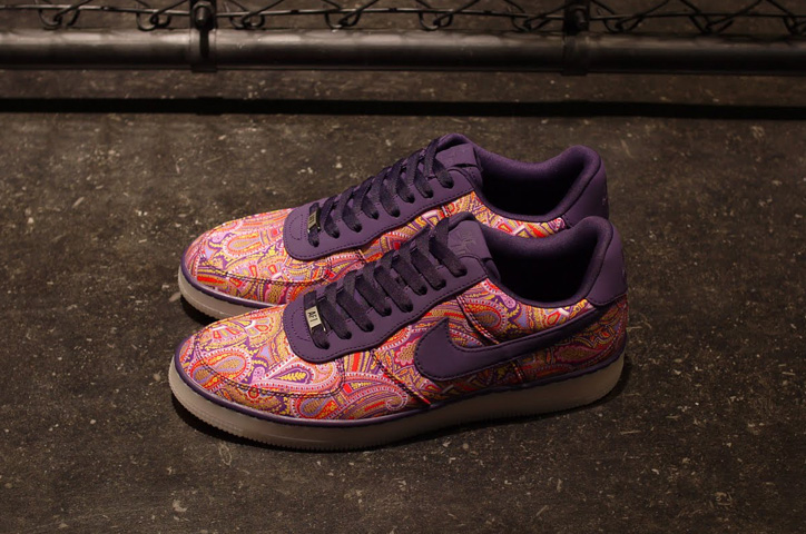 LIBERTY x NIKE AIR FORCE I DOWNTOWN LIMITED EDITION for NONFUTURE - sneaker resource