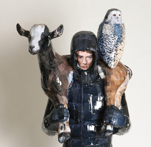 Photography Sculptures by Gwon Osang