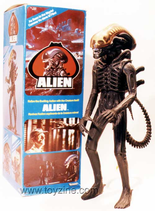 Kenner Alien Action Figure, 20th Century Fox 1979 Sci Fi movie Alien collectibles