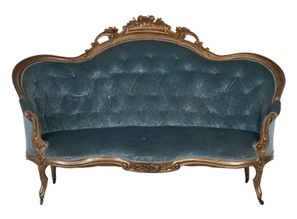 ANTIQUE BAROQUE SOFA | fall flea market | FLEA | Jayson Home