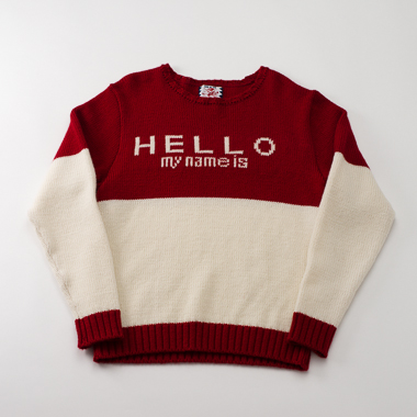 HELLO MY NAME IS(RED) - SON OF THE CHEESE ONLINE SHOP
