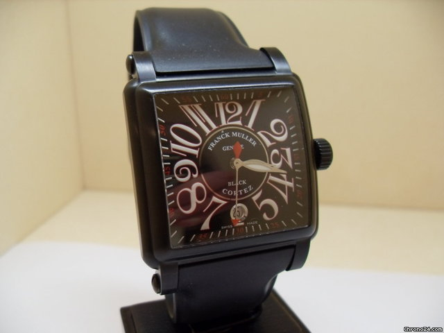 Franck Muller Cortez Black PVD for price on request for sale from a Trusted Seller on Chrono24