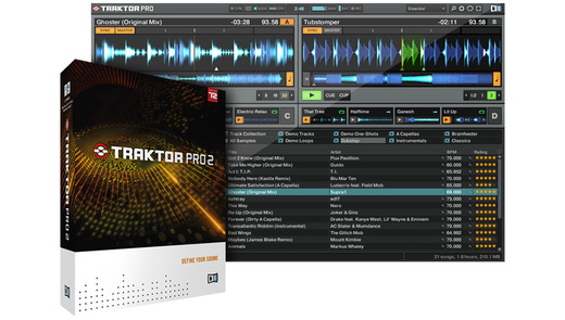 Native Instruments TRAKTOR PRO 2の通販。1万円以上で全国送料無料!(Rock oN Company)