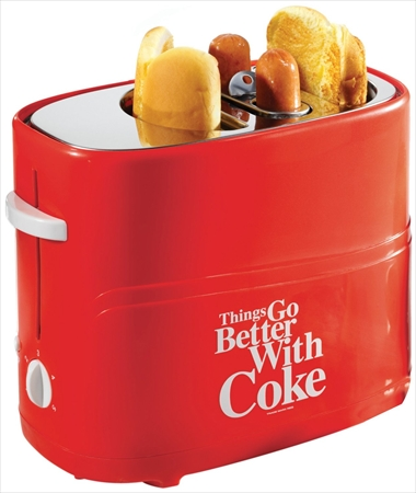 Retro Series Red Pop-Up Hot Dog Toaster | Shopping at Hardware Sphere