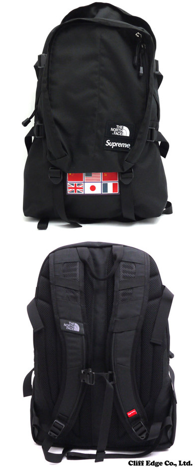 【楽天市場】SUPREME x THE NORTH FACE Expedition Medium Day Pack Backpack (バックパック) BLACK 276-000190-011+【新品】【smtb-TD】【yokohama】:Cliff Edge