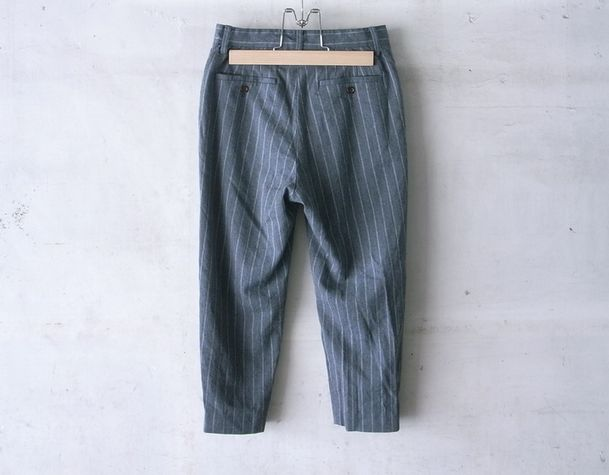 8/10 LENGTH TAPERED PANTS | welles journal