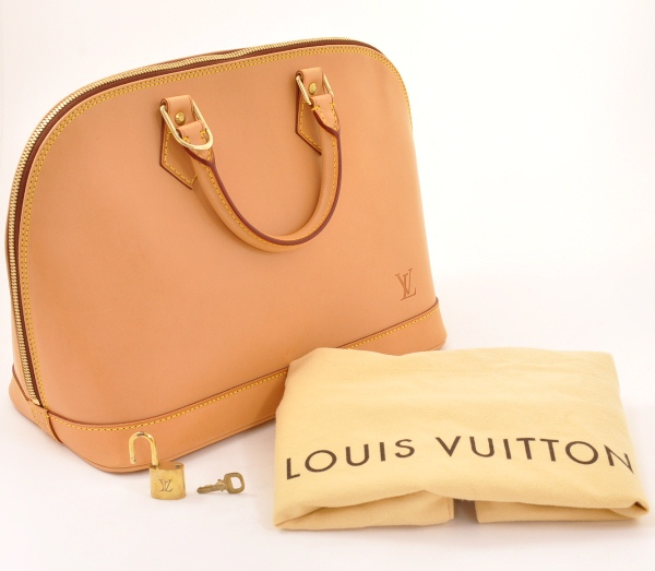 Louis Vuitton - Authentic Louis Vuitton Alma Nomade Leather Hand Bag L400 | MALLERIES