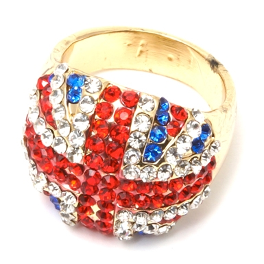 V&A Victoria Albert Museum > Main Section > Shop by product > Jewellery > Union Jack Ring (One Size)