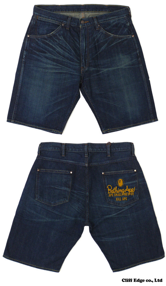 【楽天市場】A BATHING APE 1997 DENIM SHORTS WASH [ショーツ] D.INDIGO 244-000436-044[1980-151-002]-【新品】【smtb-TD】【yokohama】:Cliff Edge