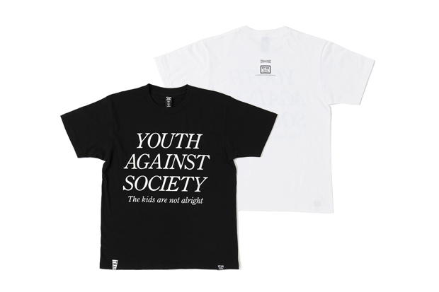 """Forty Percents Against Rights x TRAVERSE TOKYO """"YOUTH OF TODAY"""" T-Shirt 
