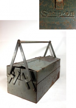 "1930-early 40's ""Snap-on"" Tool Box【大型】 - FUNNY SUPPLY"