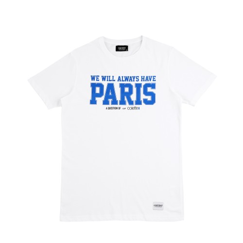 "colette A QUESTION OF x COLETTE T-Shirt ""We Will Always Have Paris"""