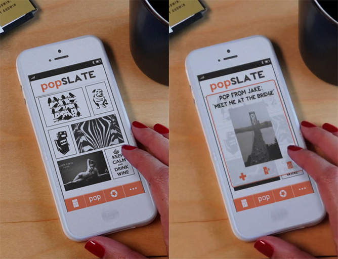 popSLATE--Second Screen Smart Case for Your iPhone 5 | Indiegogo
