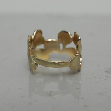 PLANT / PLANT hand made jewelry -rings001gold