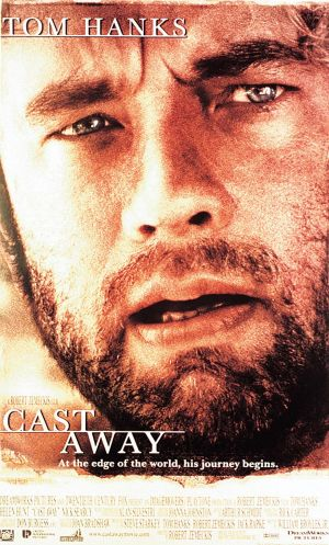US poster for Cast Away