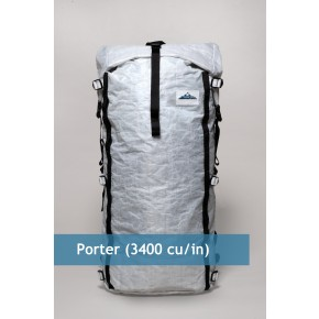 Ultralight Large Capacity Backpack: HMG Porter Pack - Hyperlite Mountain Gear