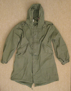 US Army KOREA VIETNAM M1951 PARKA M51 COLD WEATHER O.D. dated 1953 | eBay
