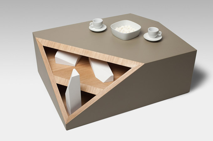 Cutline – Coffee Table « Smooth Plane