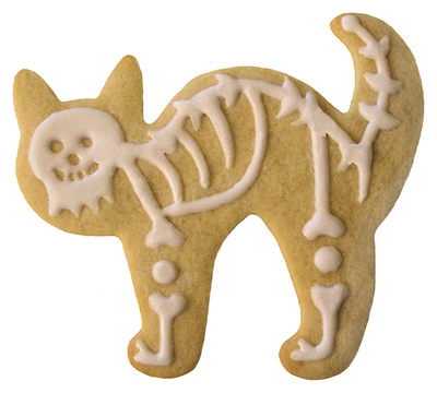 Cat Cookie Cutter (Halloween) - CopperGifts.com