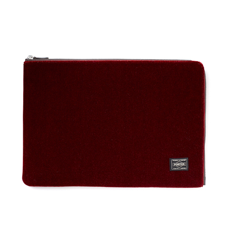 DOCUMENT CASE|VELOURS|HEADPORTER OFFICIAL ONLINE STORE|ヘッドポーター オンラインストア