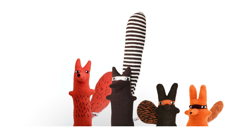 Cyril, Rudie, Ralf & Rill by Donna Wilson — Product — Theo