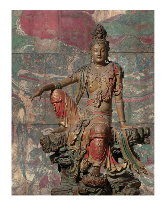 Seated Guanyin Bodhisattva (Gallery Edition), by The Nelson-Atkins Museum (11x14.25 inch)
