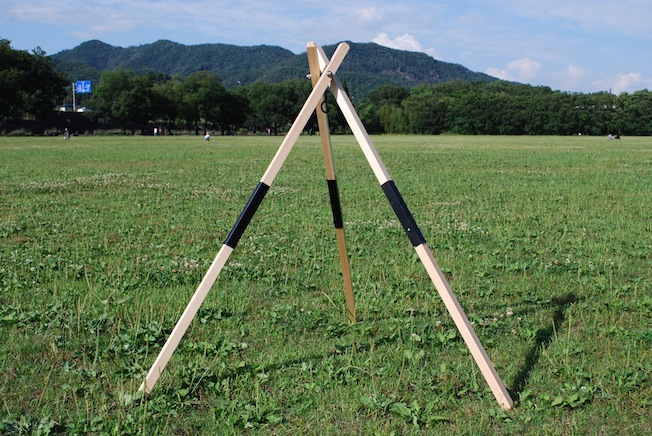 CAMP MANIA PRODUCTS / KBW WOODEN TRIPOD | CAMP MANIA PRODUCTS