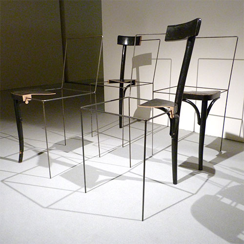 The 3/4 Place Keeper Chair by Julian Sterz - Design Milk