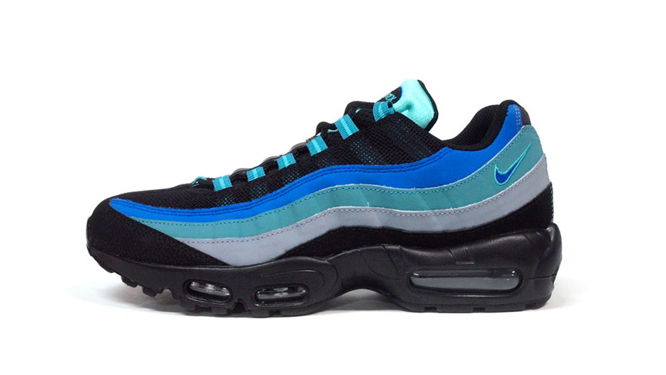 "AIR MAX 95 ""LIMITED EDITION for ICONS"" BLK/BLU/E.GRN ナイキ NIKE 