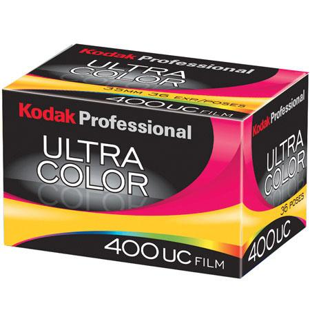 Kodak Product Reviews and Ratings - Color Negative (Print) Film - Kodak Ultra Color 400UC Color Negative Film ISO 400, 35mm Size, 36 Exposure, *USA* from Adorama