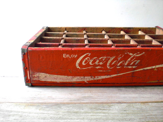 Vintage / Home Decor / Box / industrial / retro by WhiteDogVintage
