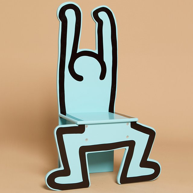 Fancy - Vilac Chair by Keith Haring