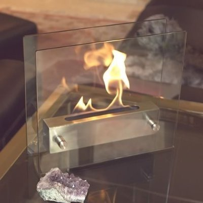 Amazon.com: Nu-Flame Irradia Tabletop Fireplace: Home & Kitchen
