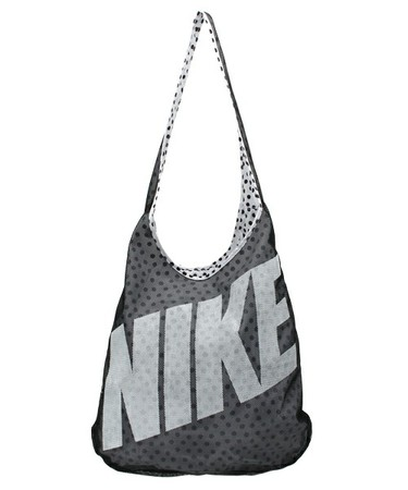NIKE(ナイキ)のナイキ リバーシブル ナイロントートバッグ NIKE GRAPHIC REVERSIBLE TOTE BA4879(トートバッグ)|ブラック