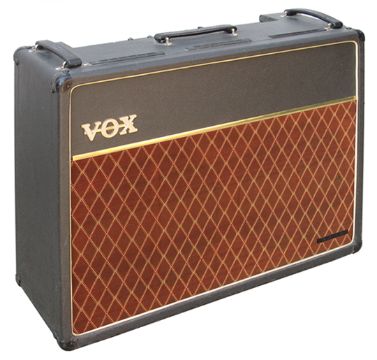 The VOX Showroom - The AC-30/6 Twin w/brown fret cloth.