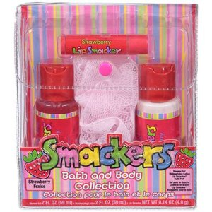 Bonne Bell Strawberry Smackers Bath & Body Collection, 1ct