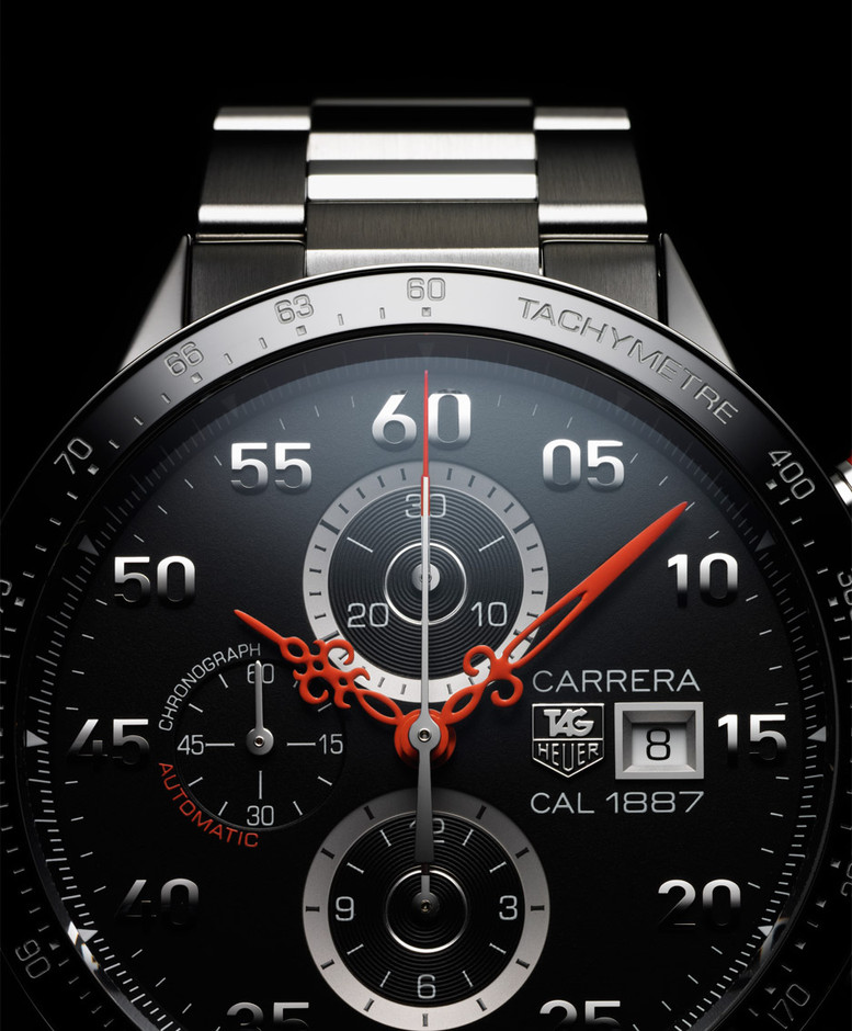 Nendo adds antique hands to TAG Heuer's Carrera timepiece