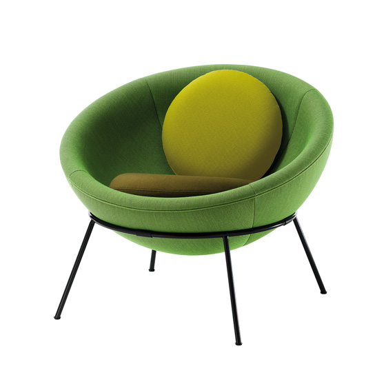 'Bowl Chair' by Lina Bo Bardi by Arper (IT) @ Dailytonic
