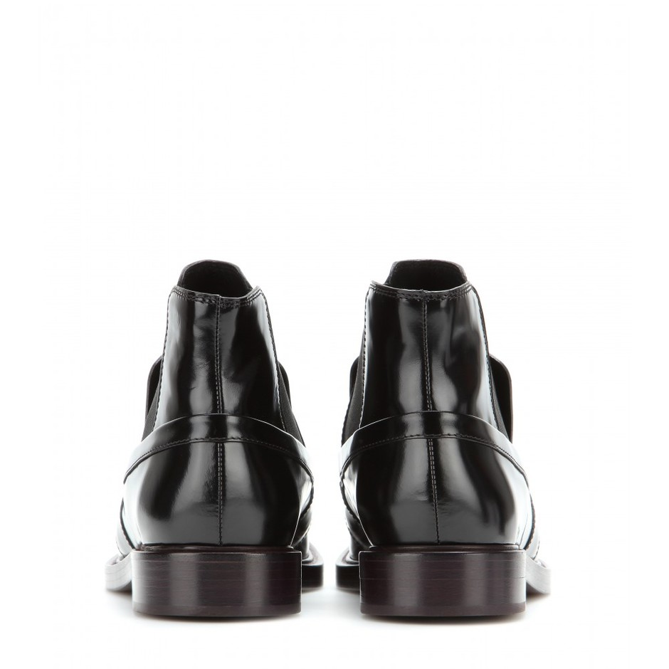 mytheresa.com - Leather ankle boots - Current week - New Arrivals - Luxury Fashion for Women / Designer clothing, shoes, bags