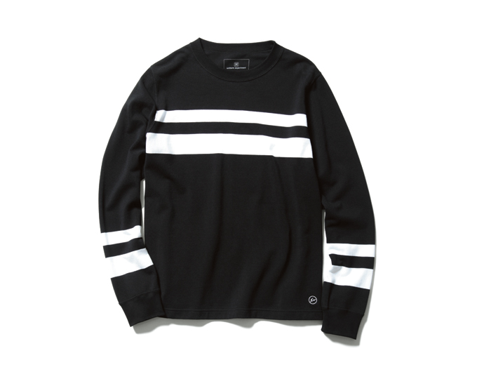 uniform experiment | PRODUCT | TWO LINE CREW NECK CUT & SEWN