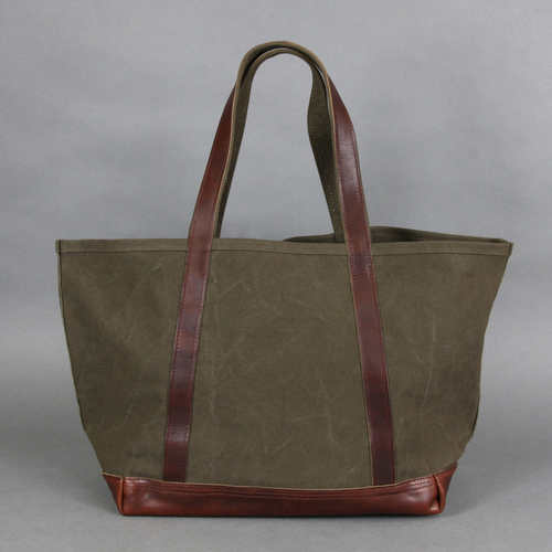 AGING CANVAS / BASIC TOTE(OLIVE) | evergreen works