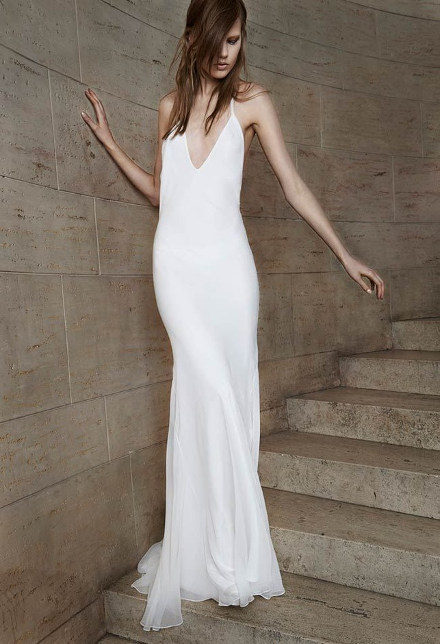 Vera Wang Spring 2015 Wedding Dresses