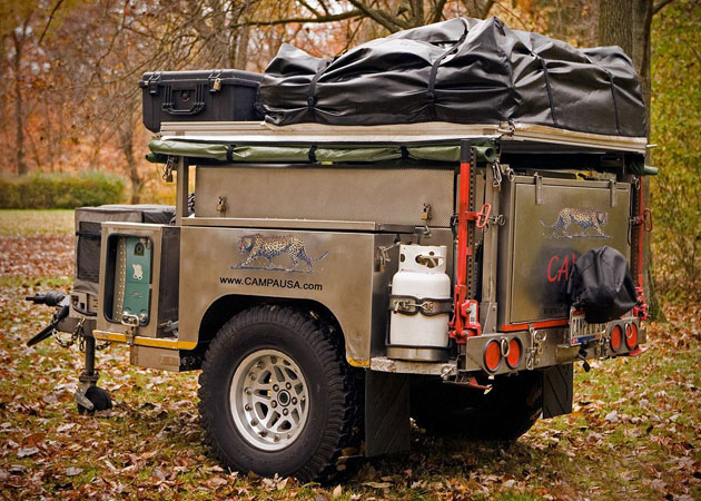All Terrain Camping Trailer by Campa USA | HiConsumption