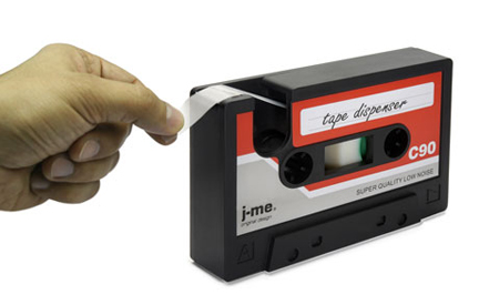 Generate Design: Tape Dispenser (テープディスペンサー) : Jaime & Mark Antoniades : J-Me
