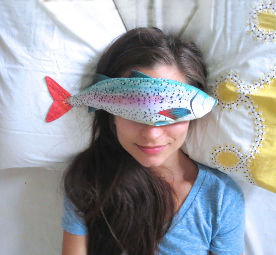 Fish Eye Pillows Is What You Need After A Hard Day | Bored Panda