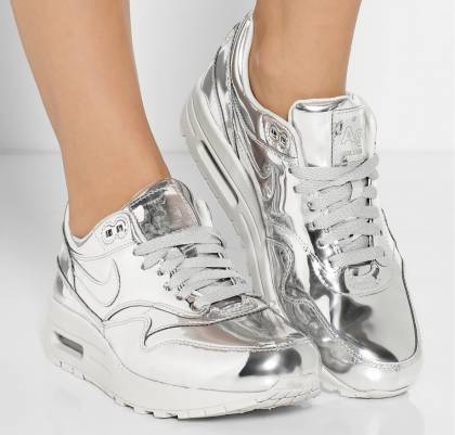NIKE Air Max silver | Infamous Magazine