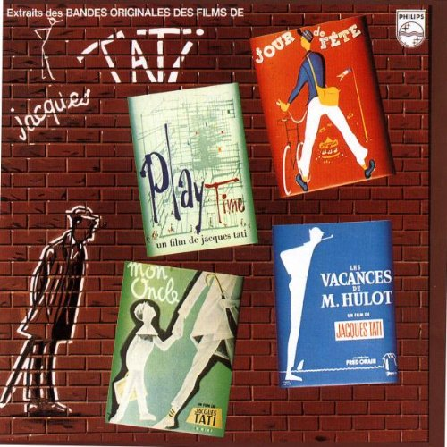 Amazon.com: Extraits Des Bandes Originales Des Films De Tati Jacques: Jacques Tati: Music