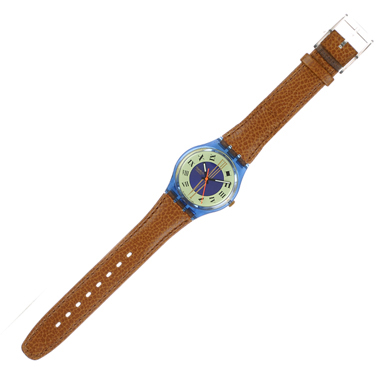Swatch Master - Watch - GN130   Squiggly Swatch Watches and Straps