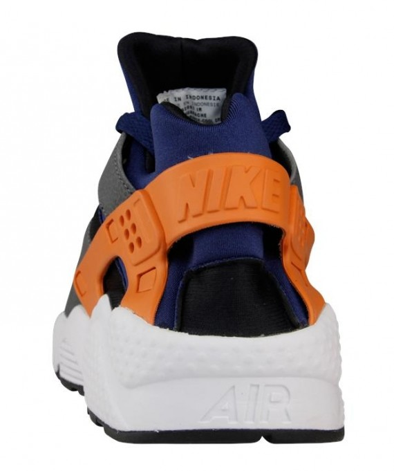 Nike Air Huarache - Brave Blue - Urban Orange - Cool Grey - SneakerNews.com