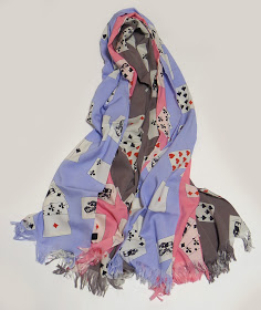 PEEL&LIFT: playing cards scarf